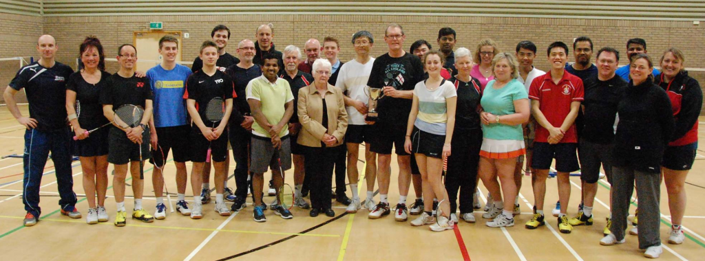 Severn Vale Badminton club members